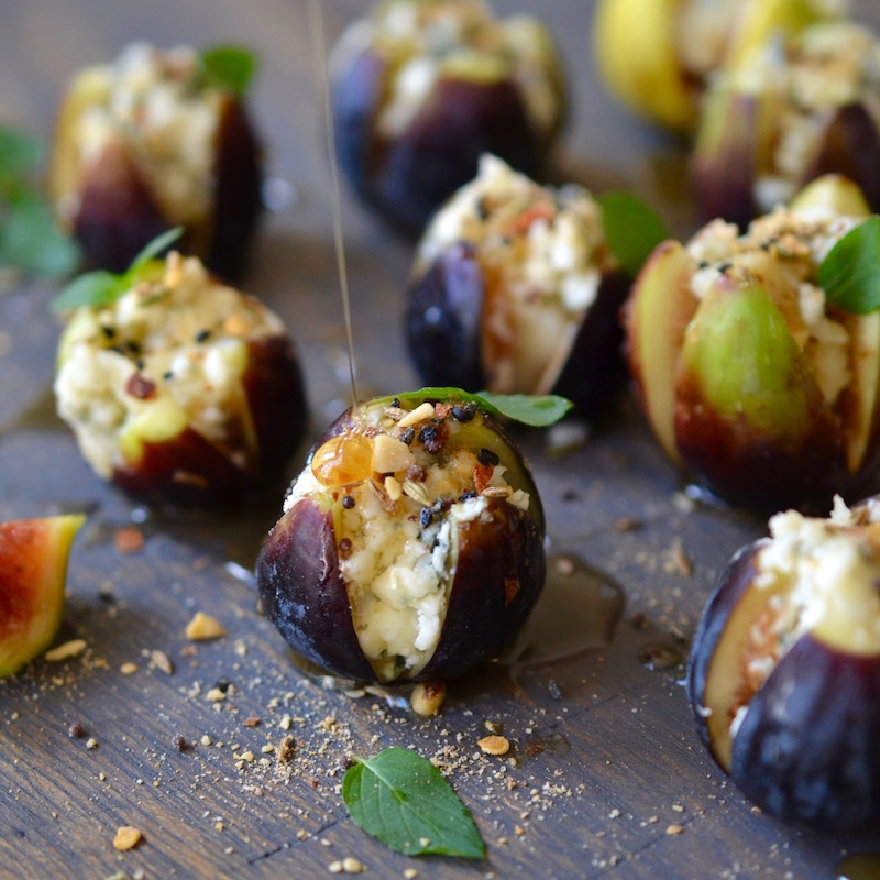 Blue Cheese Stuffed Figs - Glory Kitchen